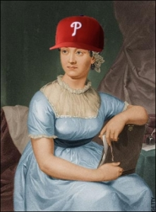 Jane Austen is a Phillies fan