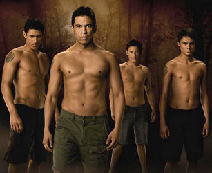 Shirtless Hottie Werewolves