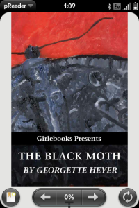 The Black Moth on pReader