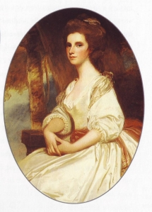 Mrs. Thomas Knight, nee Catherine Knatchbull, by George Romney