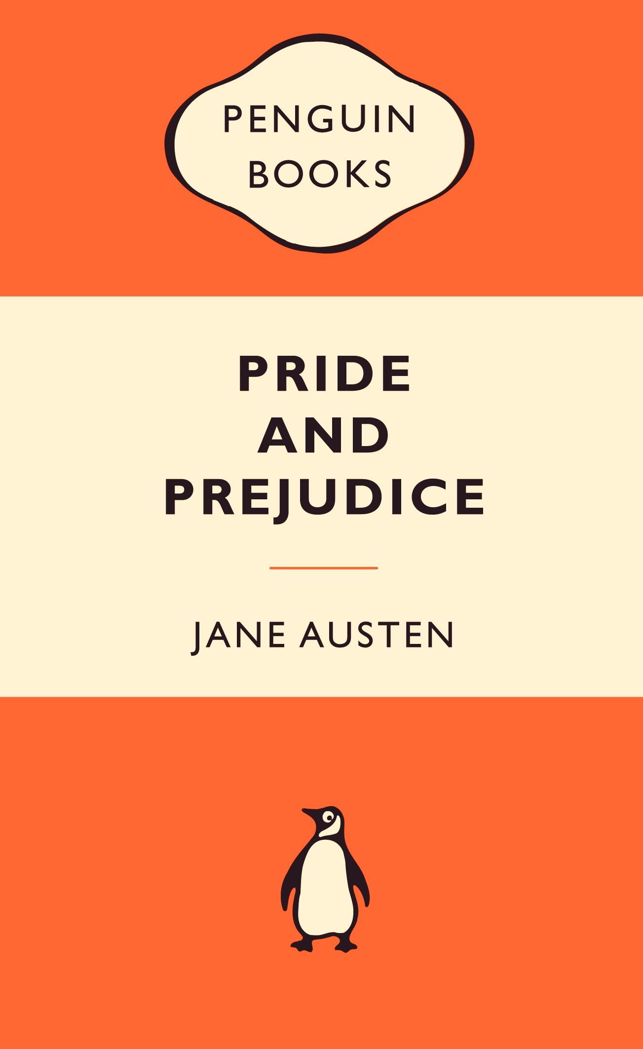 Penguin Book Cover Personalised : Friday book ging penguin turns edition austen