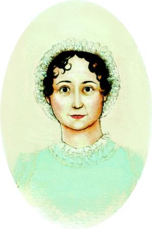 Jane Austen by Cassandra Chouinard