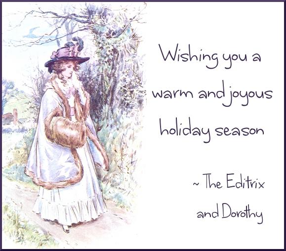 Wishing you a warm and joyous holiday season