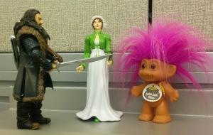 Jane, Thorin and the Good Luck Troll