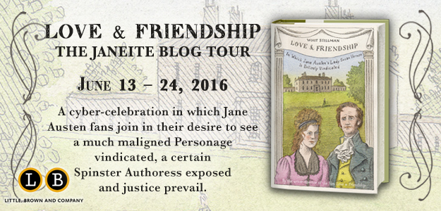 Love  Friendship Blog Tour graphic banner