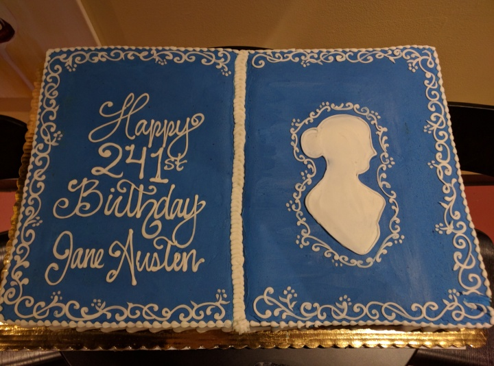 Jane Austen Birthday Cake