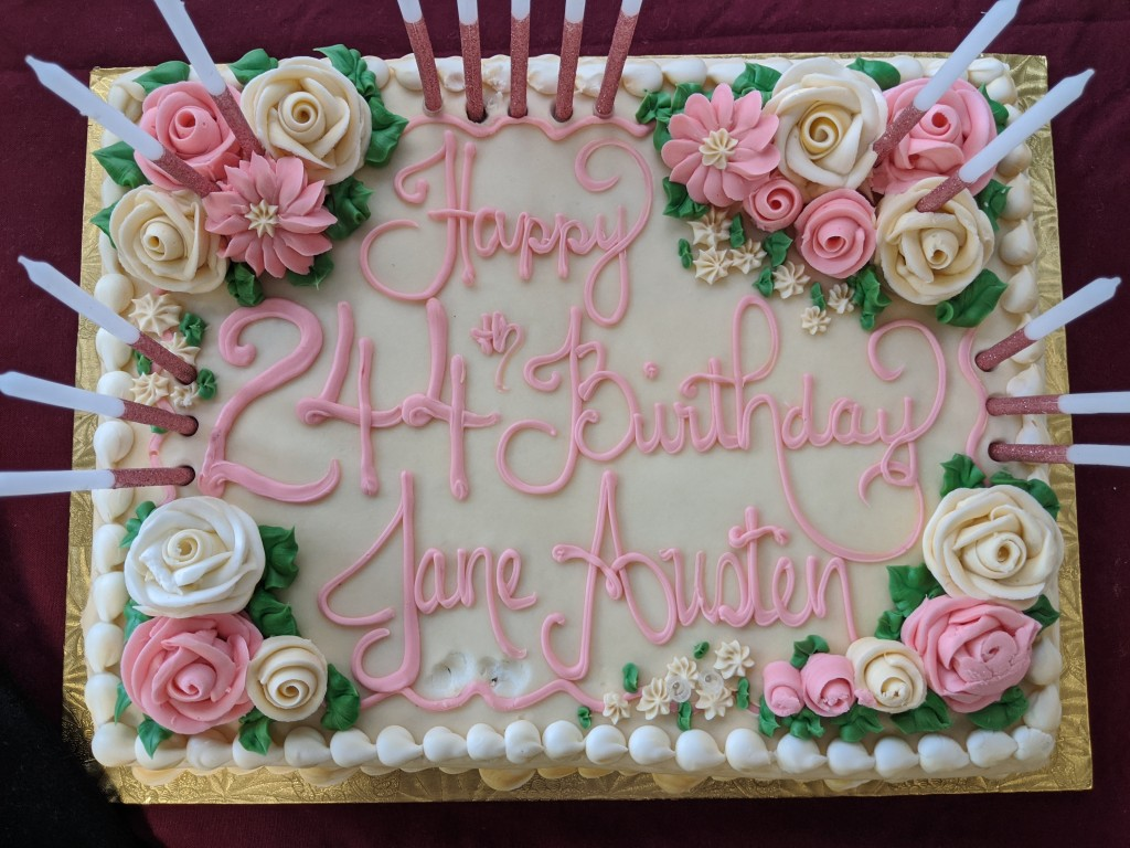 Birthday Cake for Jane Austen